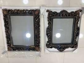 Espejo Tipo Antiguo Decoracion 80 x 65 CM Decorativo