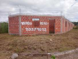 VENDO TERRENO ESQUINA CON CONSTRUCCION -ESCUCHO OFERTAS - RECIBO VEHÍCULO MENOR VALOR