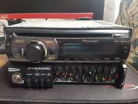 Vendo radio para carro y equalizador amplificado