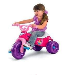 Triciclo Fisher Price Thomas y Barbie.