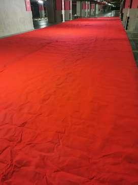 Vendo tapete para trafico color rojo poco uso