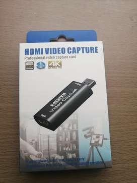 Capturadora de video hdmi 4k full hd NUEVA