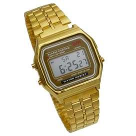 Relojes Casio Digital ,Resistente al agua,alarma ,luz,cronometro