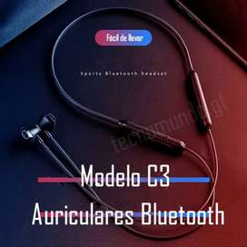Audífonos bluetooth C3