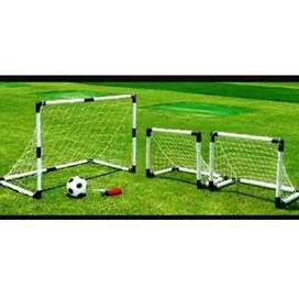 Arco de fútbol set de 1 arco y 2 arcos