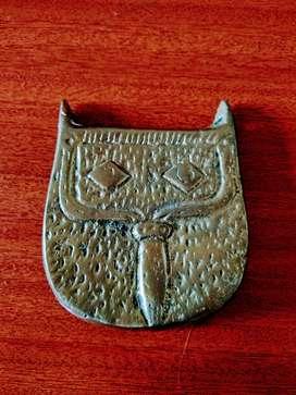Carriel en Bronce - Decoración - Adorno - Antiguo - Antiguedad