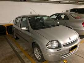 Renault clio RTE 2002 segundo dueño, perfecto estado general