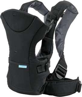 Infantino Flip Front 2 Back Carrier, Black - Usado