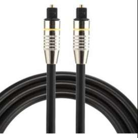 Cable Optico, Audio digital de fibra óptica 1.5mt + delivery