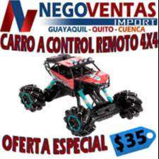 CARRO A CONTROL REMOTO 4X4