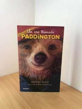 """Libro """"Un oso llamado Padington""""original."""