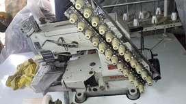 Venta maquina multiagujas y maquina encauchadora