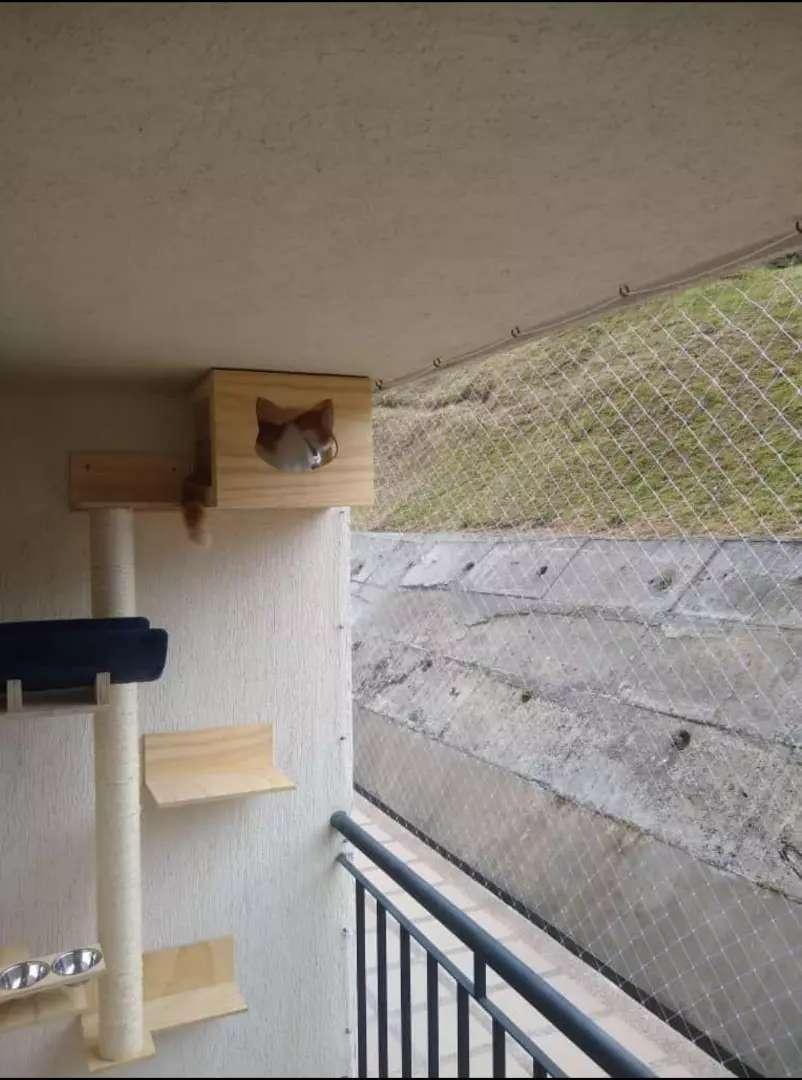 Malla balcon