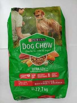 Dog chow adulto 22.7kg (precio al por mayor)