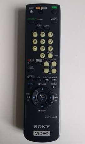 Control remoto VHS Sony Video RMT-V299B - remoto2022
