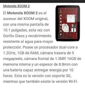 Tablet Motorola Zoom