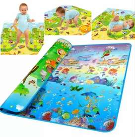 Colchoneta Tapete alfombra infantil grueso de para niños niñas bebes para gateo 1.5 x 1.8 mt
