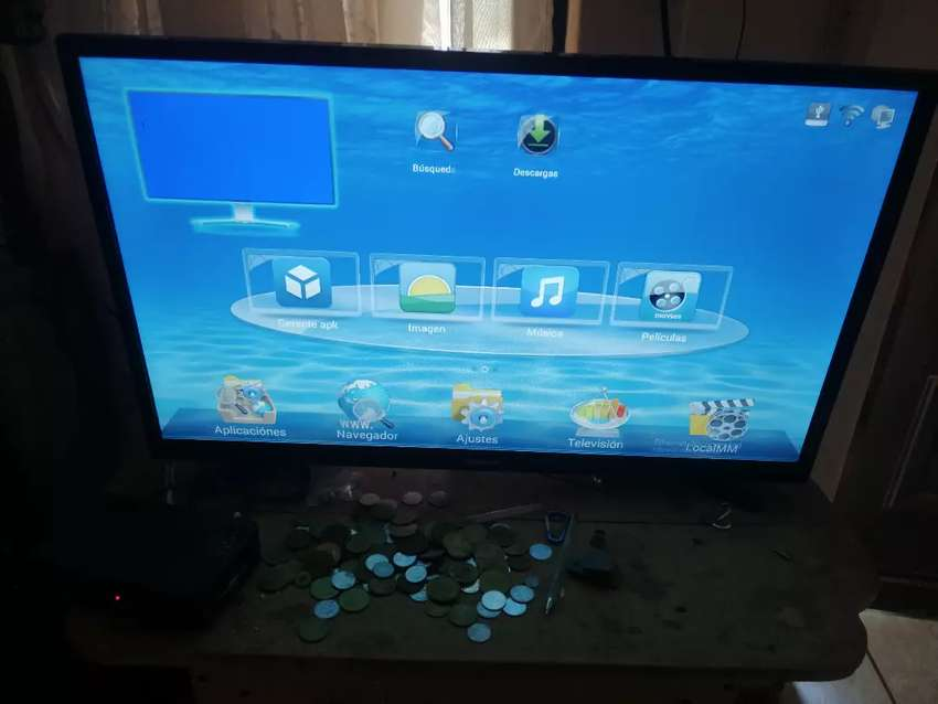 Pantalla daytron 32 smart tv 0