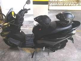 Moto Suzuki Burgman 125 Modelo 2020