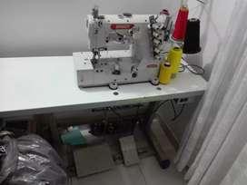Se vende máquina de coser (collarin) industrial