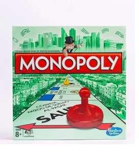Monopoly Monopolio Juego Hasbro Original Entrega Inmediata