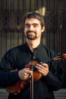Clases de violín Cap Fed San Cristóbal y por Skype o video llamada
