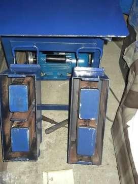 Mesa vibradora para ladrillos de concreto