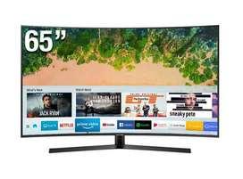 "SAMSUNG  65"" NU7500 PUHD Curvo Smart TV 4K 2018"
