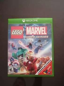 Vendo para xbox one videojuego marvel superheroes