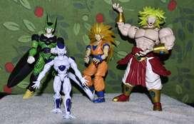 figuras de acción dragón bal z marca RISE