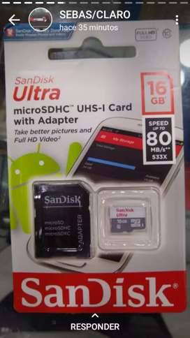 Memorias Micro y USb
