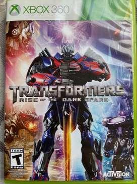 Juego de xbox 360 Transformers Rise Of The Dark Spark