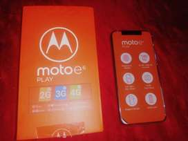 Vendo telefono motoE6 play nuevo de caja sin ningun detalle negociable 300