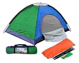 Carpa camping para 3 personas