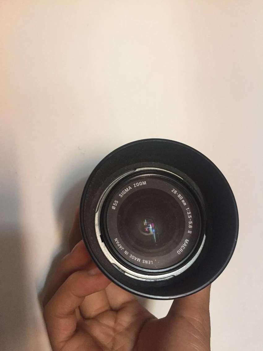 Lente Sigma Zoom 28-80mm 1:3.5 -5.6 Ii Macro 0