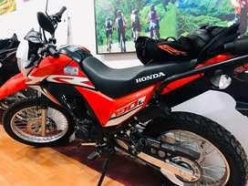 MOTO NUEVA HONDA XR 190 L