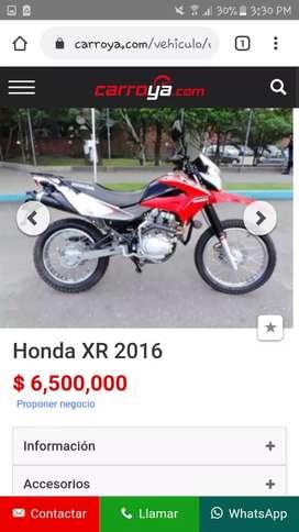 Vende Honda XR150L  150xr 150 xr