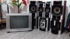 Equipo Sony Y Tv Sony