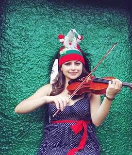musico para novenas, villancicos con Violin