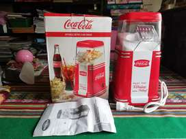 Pop corn maker Coca cola Nostalgia canchita