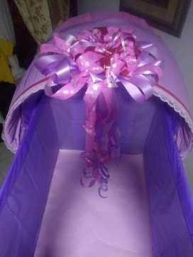 Cunas de papel parababy shower y cumpleaños