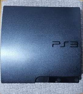 Consola Playstation 3 slim 160GB + 2 controles + 7 juegos. Negociable