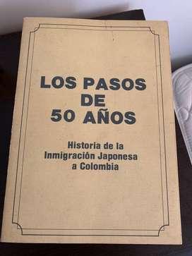 Libro historia japonesa en colombia