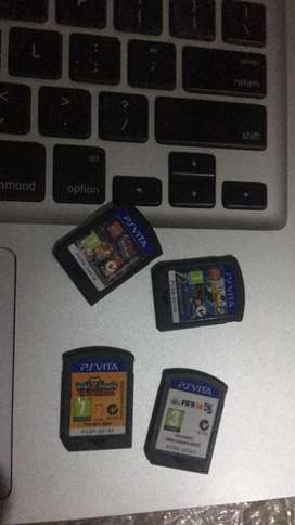 Juegos Psp Vita 20 Cada Uno Negociable