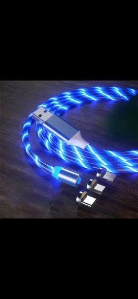 Vendemos cables usb de carga rápida magnéticos para Android, iPhone, y tipo c