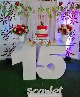 Alquiler de sonido, chikiteca, chiquiteka, decoracion, matrimonios, bodas, 15 años, fiestas, organizador de eventos.
