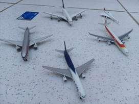 Aviones comerciales de colección