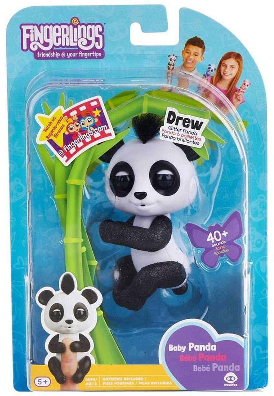 Fingerlings 40 Frases Interactivo - Baby Panda Drew - Nuevo Caja Sellada 0