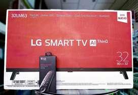 Smart Tv Lg de 32 Pulgadas Modelo 2019