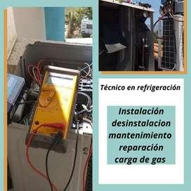 Aire técnico refrigeración instalación desinstalacion reparación mantenimiento